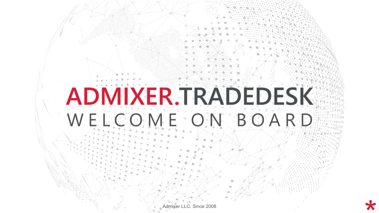 Welcome on board. Admixer запустил новую Trading Desk-платформу