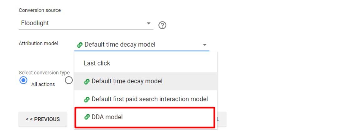 Выбор DDA модели