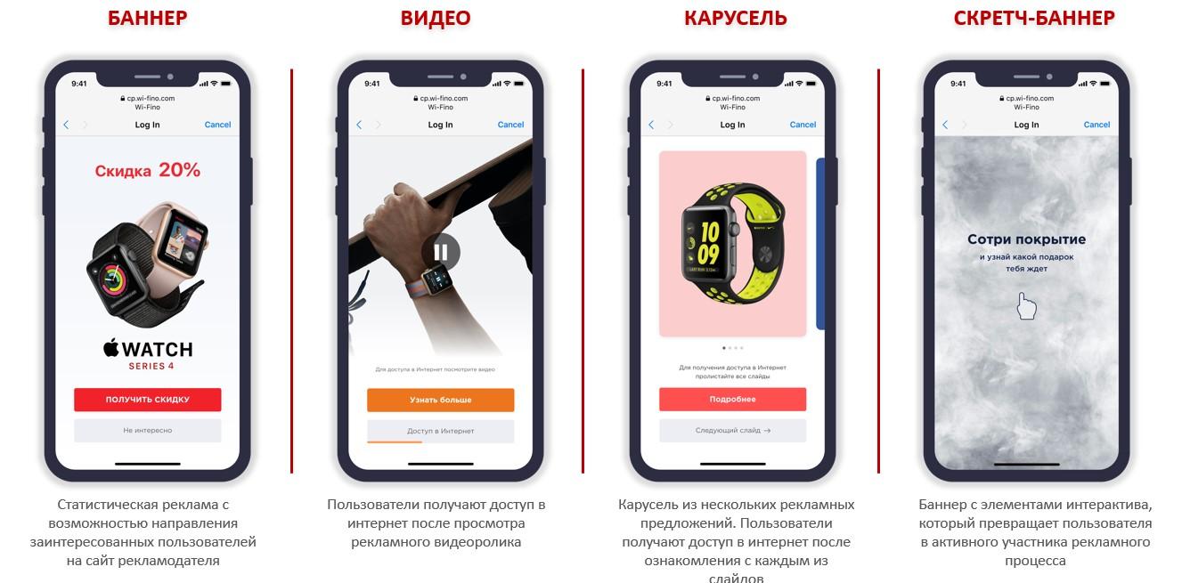 возможности wi-fi рекламы в Украине